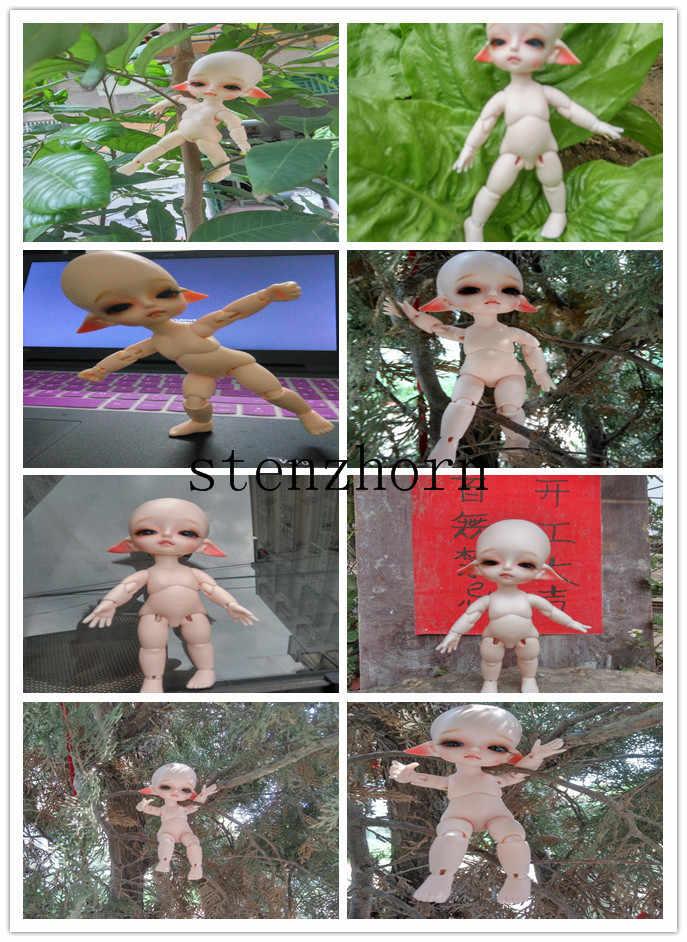 Кукла, 8-точечный кукла крошечный Delf Алиса, бело-серые ver