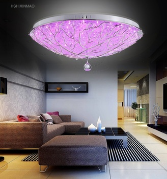Creative led children bedroom lights personalized living room ceiling lamps  Restaurant Round Ceiling Lighting AC110-240V