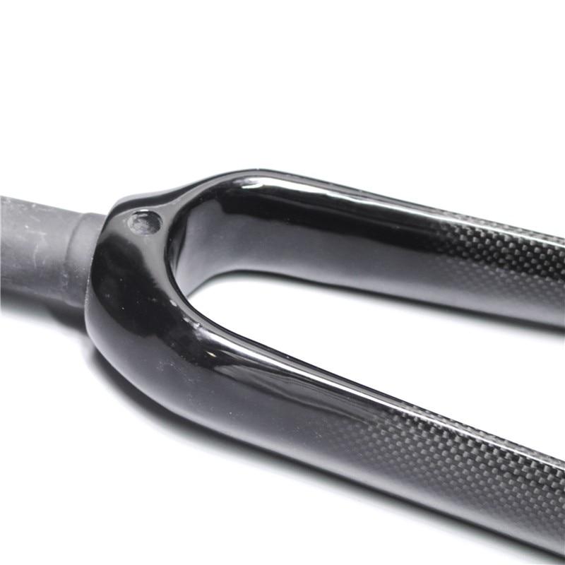 """EC90 Carbon BMX Fork 20er 20/""""inch Folding Bike Carbon Bicycle Forks Disc Brake"""