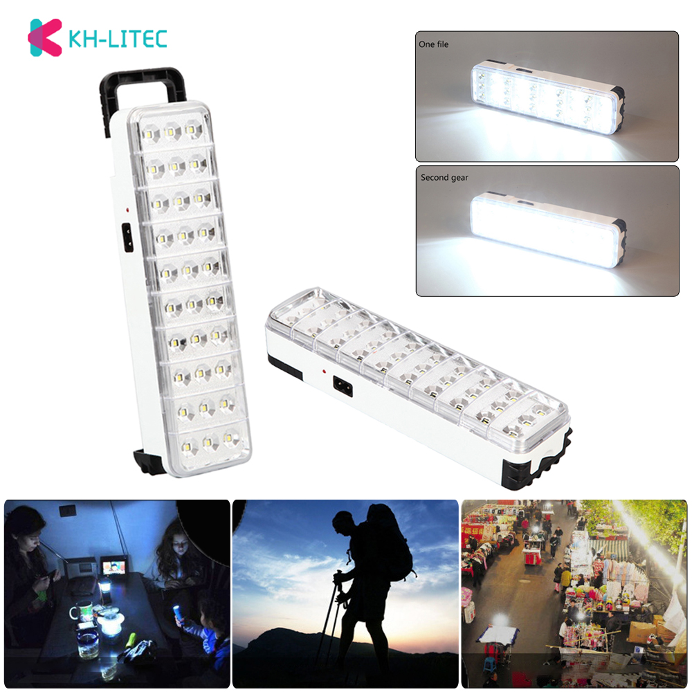 30LED Multi-function Rechargeable <font><b>Emergency</b></font> <font><b>Light</b></font> Flashlight Mini 30 LED <font><b>Emergency</b></font> <font><b>Light</b></font> Lamp 2 Mode For Home Camp Outdoor image
