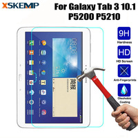 Anti-Scratch Ultra Clear No Fingerprint Tempered Glass For Samsung Galaxy Tab 3 10.1