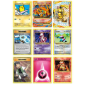 9 PCS/LOT Japanese Board Game Pokemon Cards Booster Packs, English Version Pokemon Cards Include Foil Cards Best Gift For Kids