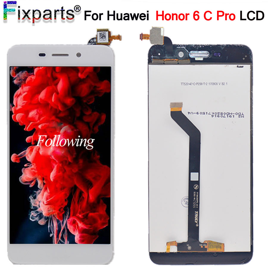 <font><b>Huawei</b></font> <font><b>Honor</b></font> <font><b>6C</b></font> <font><b>Pro</b></font> <font><b>LCD</b></font> Display+<font><b>Touch</b></font> Screen Digitizer Assembly Replacement Parts Screen For 5.2