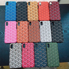 Классический Goya чехол для Iphone X XS MAX XR 8 7 6 6 S плюс чехол с логотипом жесткий кожаный чехол Coque Fundas Капа Iphone 7 Чехол