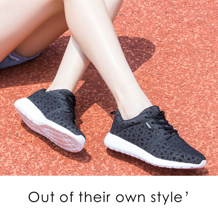 Trainers Women 2017 Fashion Flat Heels Casual Shoes Woman Low Top Summer Sport Women\'s Shoes Valentine Runner Shoes Flats ZD58 (4)
