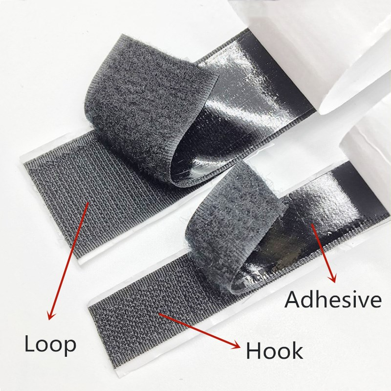 49 M Hook Loop Cable Ties Flex Tape Strong Self Adhesive Fastener Harness Diy Sewing Bags Camo Shoes Clothing Accessories Hooks Adhesive Fastener Tape Arts,crafts & Sewing