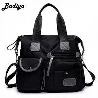 New Waterproof Women Nylon Oxford Handbag Shoulder Bag Large Capacity Fashion Style Crossbody Casual Messenger Bag