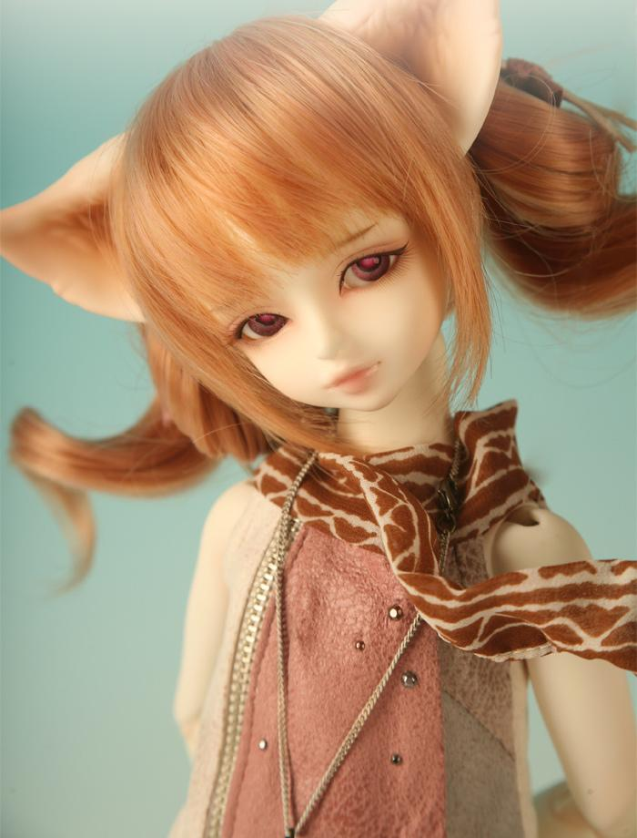 1/4 scale 43cm  BJD nude doll DIY Make up,Dress up SD doll.soom Grey & Ace doll luts ai dod msd  .not included Apparel and wig