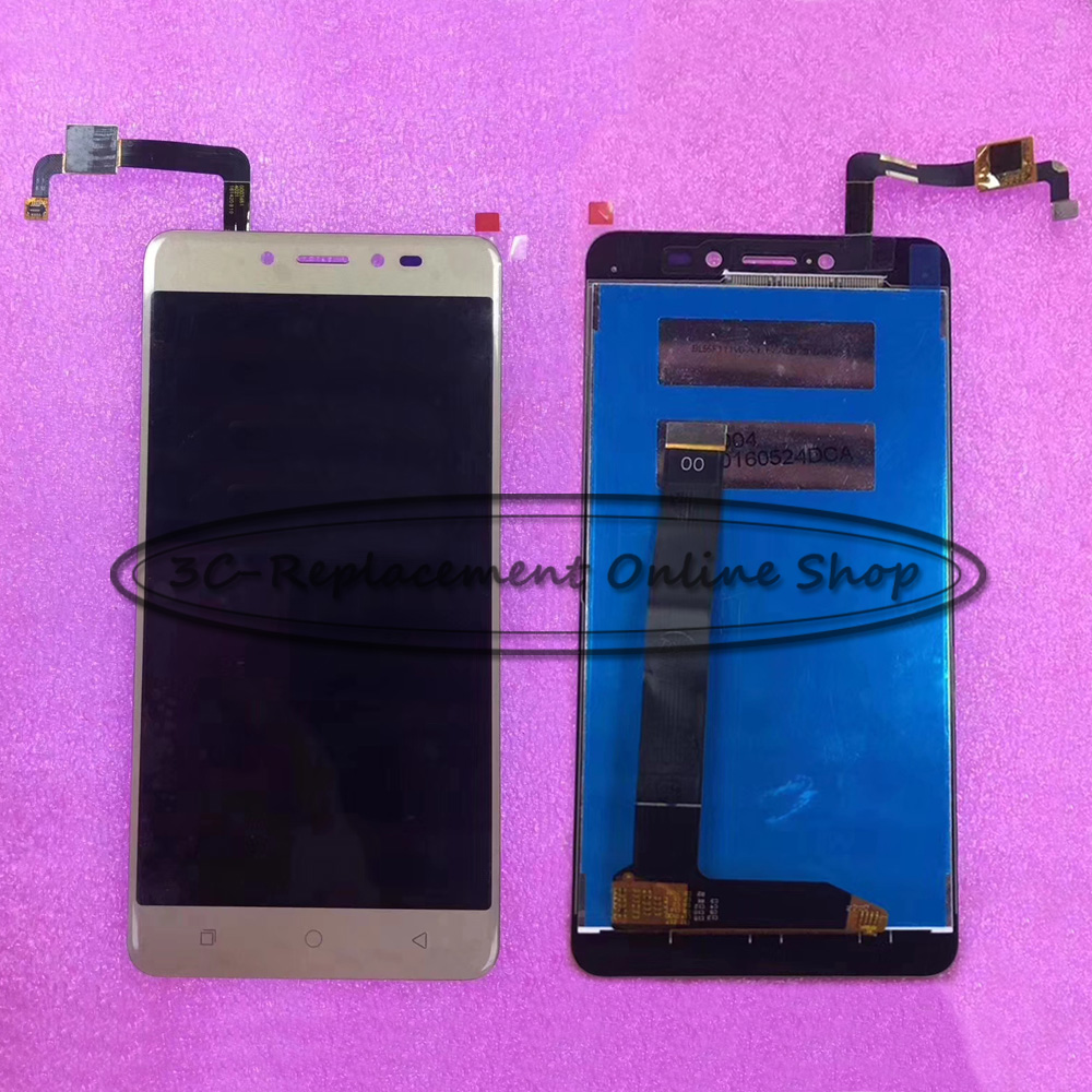 US $21 74 5% OFF|Original Gold/Black 5 5 inch For Coolpad Note 5 3600 LCD  DIsplay + Touch Screen Digitizer Assembly Replacement parts-in Mobile Phone
