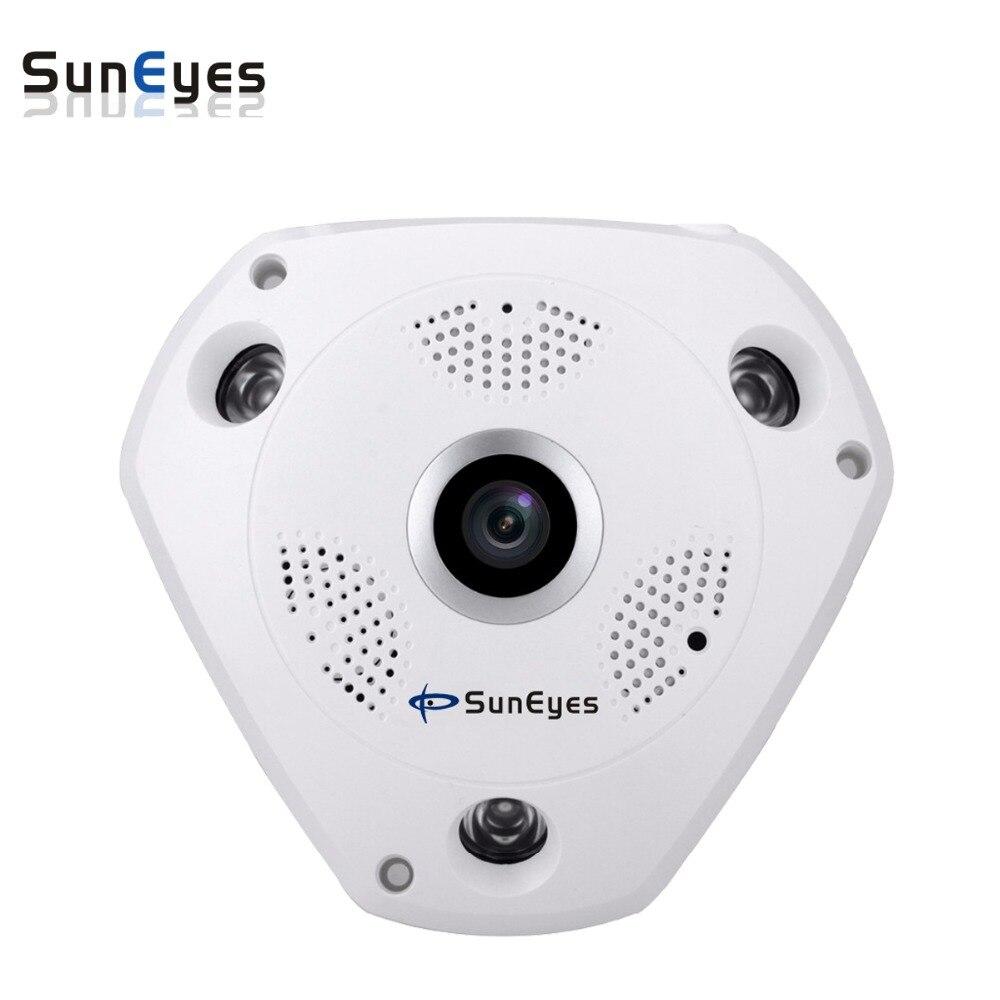 bilder für Suneyes sp-jv902w 960 p 1.3mp hd drahtlose vr ip-kamera 360 grad mit micro sd slot unterstützung ap access point modus zwei-wege Audio