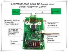 NEW 1PCS/LOT ACS770LCB-050B ACS770LCB-50B ACS770LCB 50B ACS770  0-50A DC Current meter Current Rang 0-50A 0.04/1A