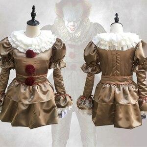 Image 3 - ภาพยนตร์Stephen King S It Pennywiseชุดคอสเพลย์น่ากลัวJokerชุดทำจากแฟนซีฮาโลวีนMasquerade Party Prop