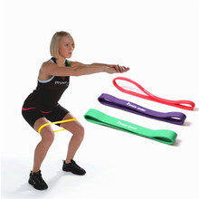 цена New Resistance Bands Rubber Band Workout Fitness Gym Equip rubber loops Latex Yoga Gym Strength Training Athletic Rubber Bands онлайн в 2017 году
