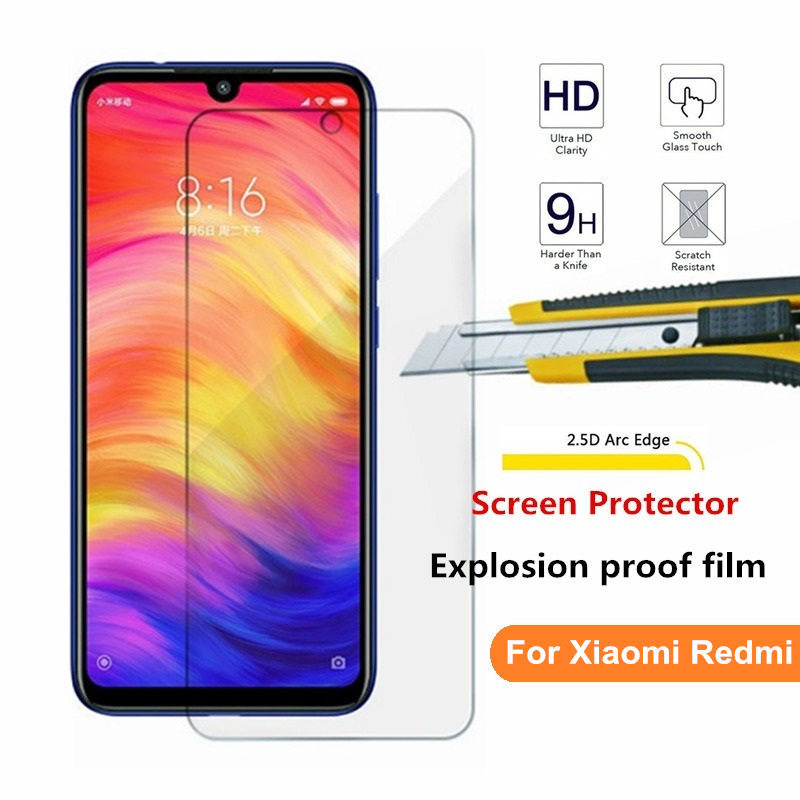 Hardened Glass For Xiaomi Redmi 6 6a 7 7a K20 Pro 4x 5a Redmi Note 5 6 7 Pro 4 4x Global Smartphone 9 H Screen Protector Film