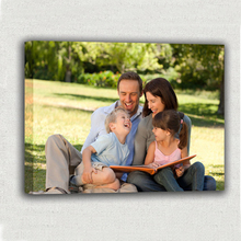 Paintings On The Wall Custom Family Photo Memories Personalized on Canvas Print For Home Decoration Picttures