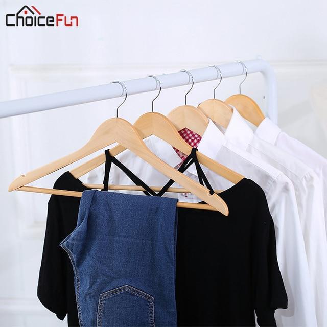 CHOICE FUN Vintage Wood Closet Coat Hanger Modern Clothes Hanger Coat Hanger  Dry Indoor