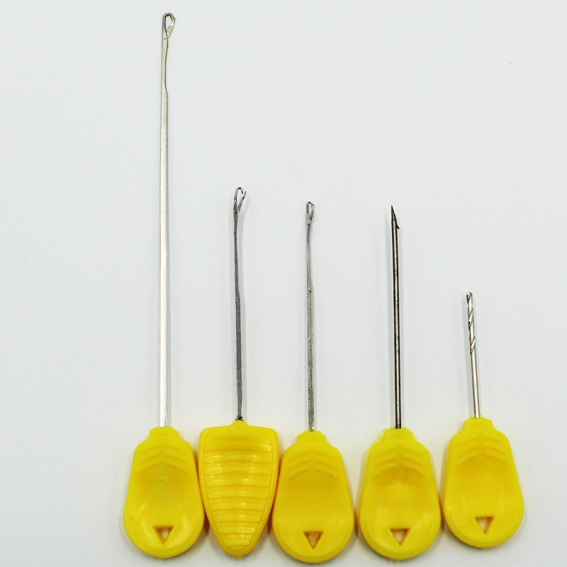3pcs Carp Fishing Rigging Tool Crochet Hook Stringer Needles Combo Boillie Drill Needle For Fishing Lure Baits Kit Set Tackle