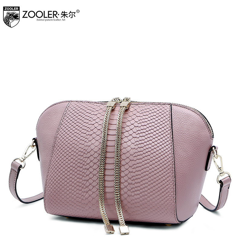 Russia ship!ZOOLER Brand genuine leather bag woman messenger bag for lady fashion cross body bags for women Losing sale#1211 все цены