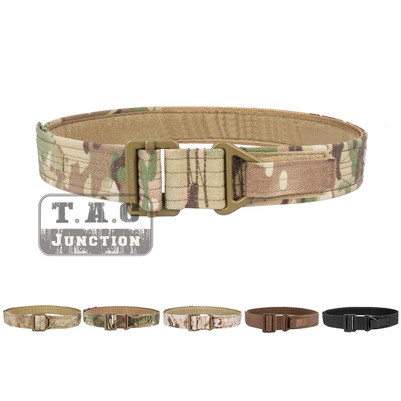 Emerson Tactical CQB Rigger's Belt EmersonGear Outdoor Survival Emergency Rescue Adjustable Hook & Loop Belt Military