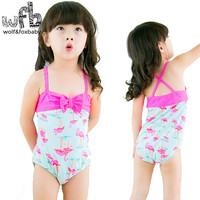 2 7years Summer Swimwear Baby Cute Sweet Sunscreen Swimsuit Baby Girl Safe And Comfortable Swim Wear