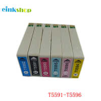 einkshop T5591 - T5596 compatible Ink Cartridge for Epson RX700 Printer Cartridge For Epson Stylus RX700 Cartridges