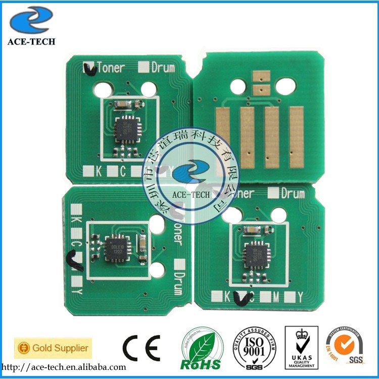 one set 006R01461~006R01464 Toner chip for Xerox WorkCentre 7120/7125 printer cartridge refill with
