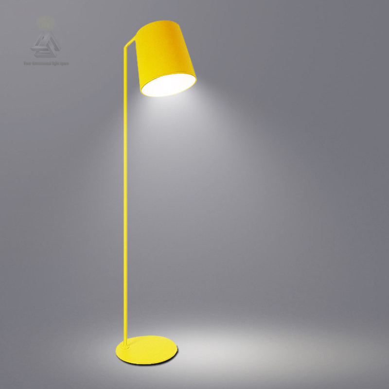 Led Modern Industrial Floor Lamp Stand Arm Simple Lamps