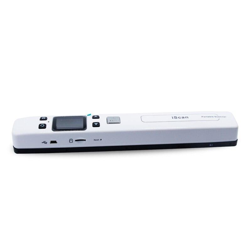 Высокое разрешение 1050DPI портативный сканер WiFi подключен с файл формате JPG/Формат PDF iScan02A