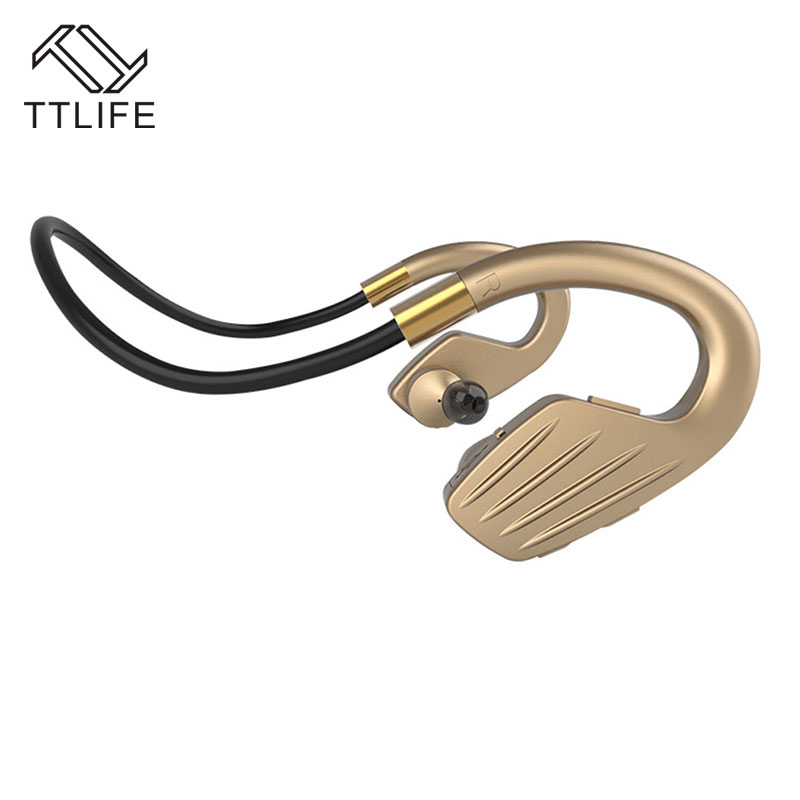 TTLIFE Bluetooth earphone V4.1 Wireless outdoor sports Headphones high quality Portable Earphone handsfree with Mic for iPhone ttlife bluetooth earphone