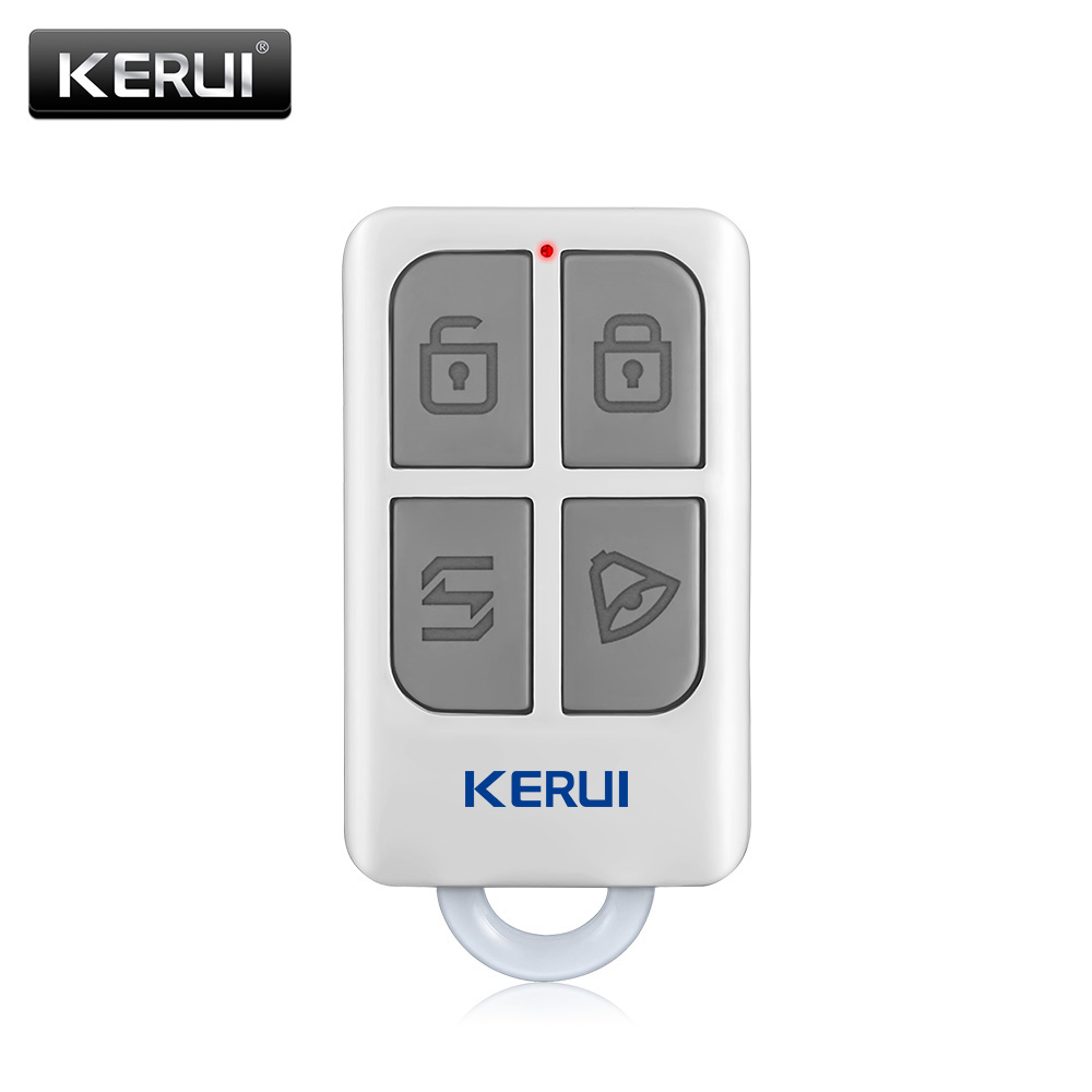 Wireless High-Performance Portable Remote Control 4 Buttons For KERUI GSM PSTN Home Alarm System