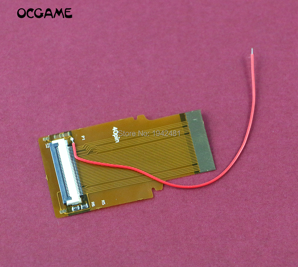 OCGAME 30pcs/lot DIY Modified Highlight LCD Ribbon Cable backlit Ribbon Cable for GBA 40pins 32PIN A&B 40p <font><b>AGS</b></font> <font><b>101</b></font> Mod Kit image