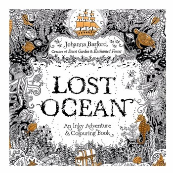 24 Pages Lost Ocean Antistress Adult Coloring Books For Adults Livre Cloriage Kids Art Book