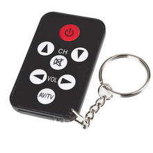 Universal Mini Smart Remote Control With Keyboard Home Automation Keychain Mini Infrared IR TV Remote Control Key Ring TV Stick