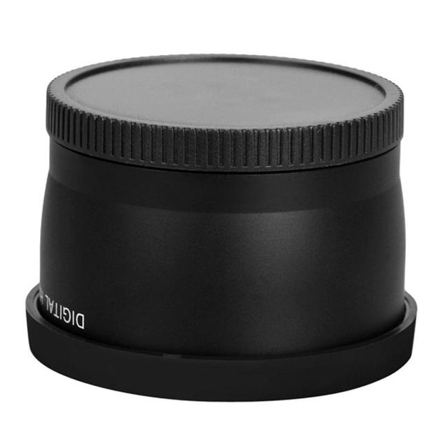 58mm 2.0X Professional Telephoto Lens for Canon 5D/6D/60D/ 350D / 400D / 450D / 500D / 1000D / 550D / 600D / 1100D 18-55MM Lens 4