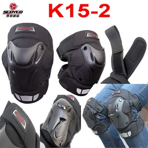 2016 New SCOYCO motorcycle kneecap biker multi-purpose knee guards wind keep warm kneepad K15-2 made of ABS and for FREE SIZE