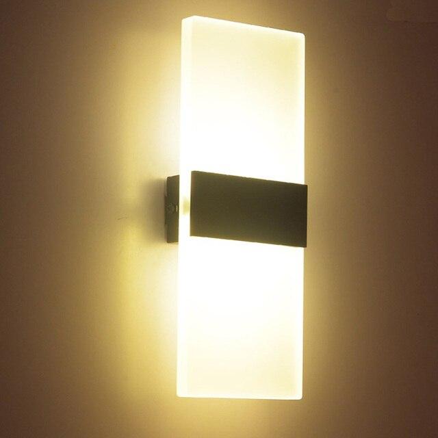 LED muur moderne minimalistische woonkamer slaapkamer balkon trap ...