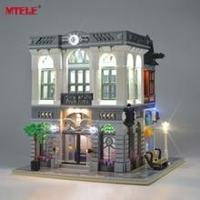 Banco MTELE LED Light Up Kit Para Criador de Tijolo Bloco de Construção Conjunto Luz Compatível Com 10251 E 15001 (Não incluem o Modelo)