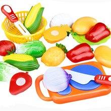 Октября притворяться, овощи образовательные фрукты играть горячая резки игрушки детские в
