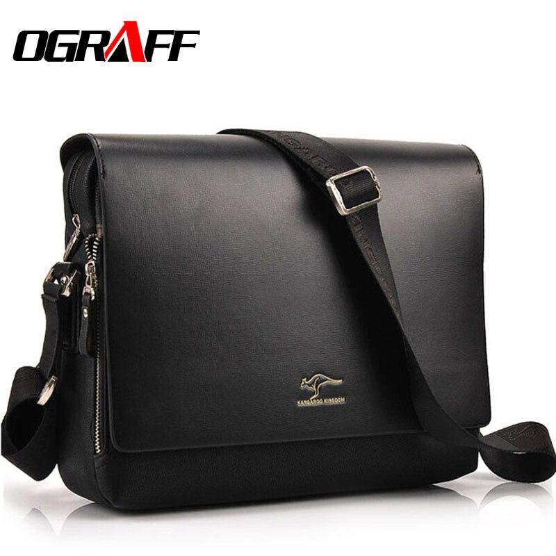 OGRAFF Men messenger bags 2017...