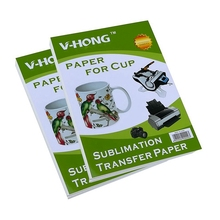 High-quality  A4 size Mobile phone protective shell sublimation heat transfer paper