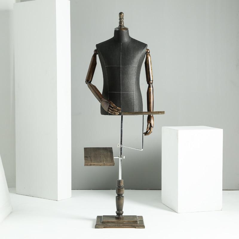 Requisiten halben Körper männliche Schaufensterpuppe Kleiderbügel - Kunst, Handwerk und Nähen - Foto 2