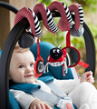 Baby Bed Strollers Hanging baby Toys Multipurpose With Sound Paper and Mirror Newborn Infant Educational Rattles
