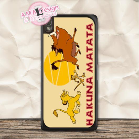 Hakuna Matata Phone Case For Sony Xperia Z5 Z4 Z3 Z2 Z1 compact Z C3 C T3 T2 E4 SP M4 M2