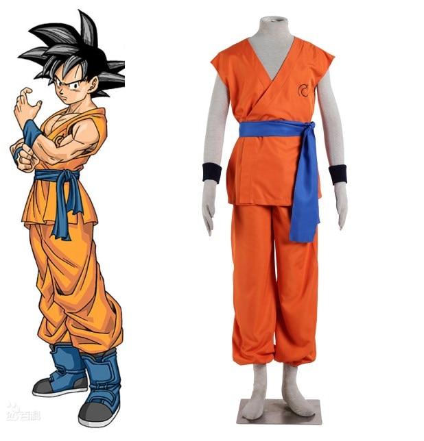 Dragon Ball Гоку косплей Хэллоуин Костюмы