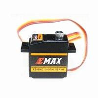 4Pcs/lot EMAX ES09MD Dual bearing Metal Digital Servo For TREX Align 450 Helicopter(es08ma es08md es08a)