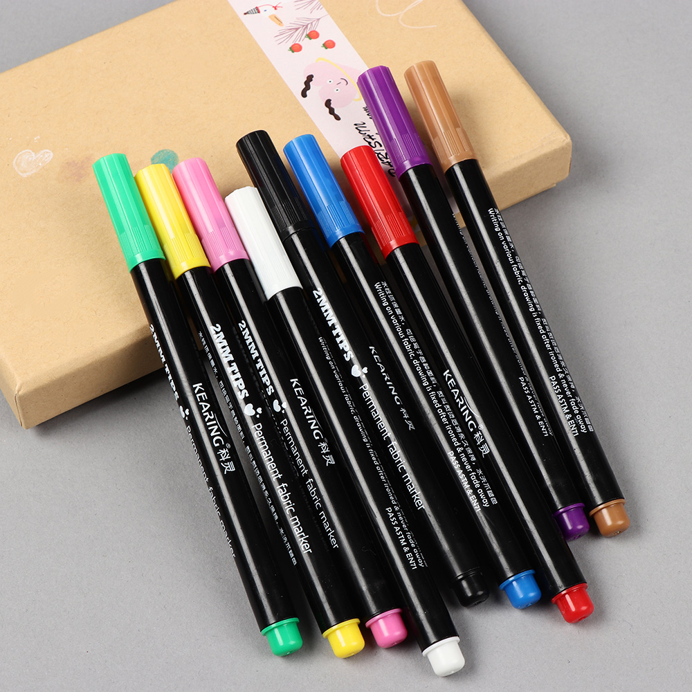Permanent Sketch Book: 1PC Permanent Marker Pen Fabric Paint Marking Pens
