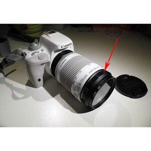 Image 4 - Kamera adapter obiektywu obiektyw makro odwrotnej ochrony pierścień do Canona 5D 6D 7D 80D 70D 800D 700D 1200D ponownie zainstalować UV soczewka filtra czapka