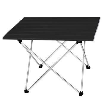 Stół kempingowy przenośny odkryty składany stół aluminiowy grill stół kempingowy piknik składane stoły cukierki kolor światła biurka S L rozmiar tanie i dobre opinie BEAR SYMBOL 39 5*35*32cm or 56 5*40 5*41cm SF755 Metal Aluminium Nowoczesne Minimalistyczny nowoczesny Montaż Prostokąt