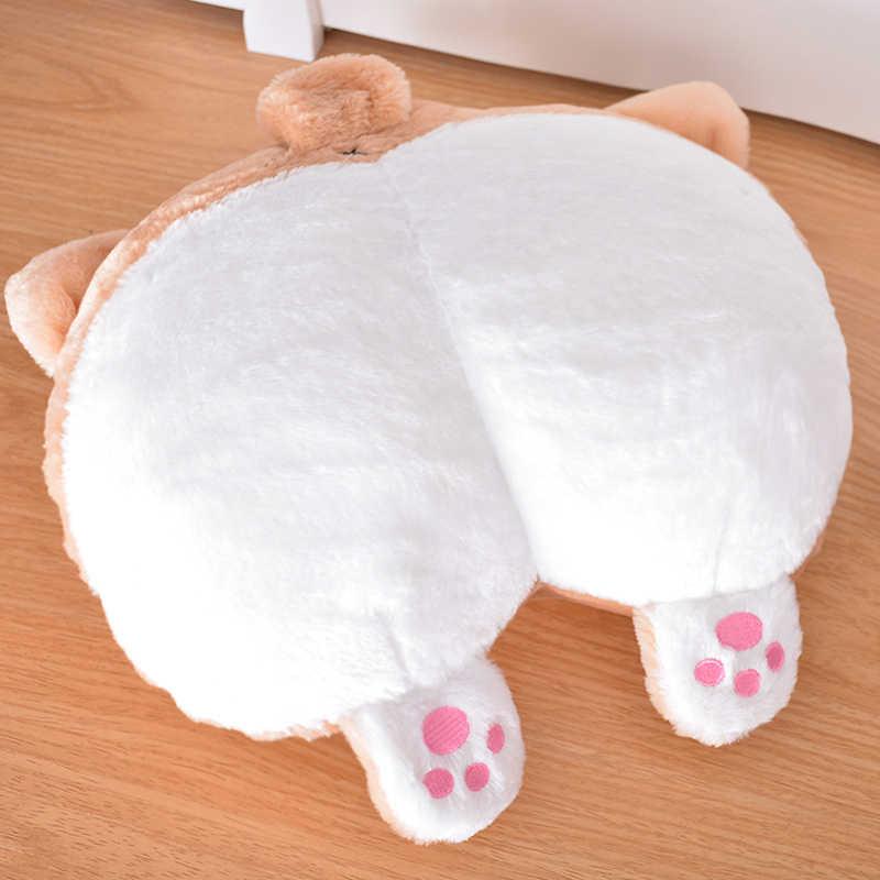Симпатичная диванная подушка Нижняя ягодица плюшевая теплая Подушка плюшевая грелка для рук игрушка Диван Шея ГОЛОВА подушки с изображением животных VC
