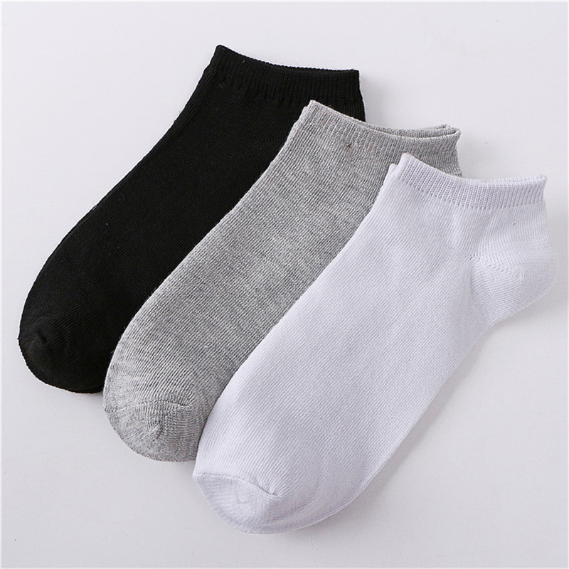 High Quality Banboo Cotton Socks Fashion Casual Men Socks Brief Invisible Slippers Male Shallow Mouth Comfortable Socks